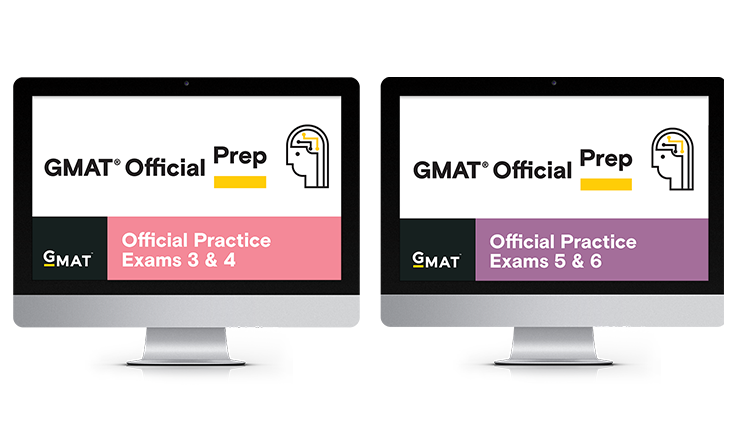 EMPOWERgmat uses the Official GMAT Exams